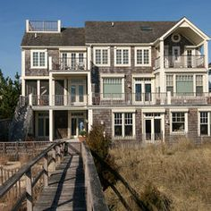Shingle Style Beach House Design, Pictures, Remodel, Decor and Ideas
