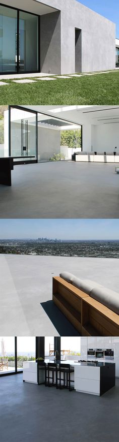 World famous fashion designer looked to SEMCO to resurface a challenging 25-foot wall on his newly purchased Hollywood Hills home. SEMCO delivered the sleek, modern aesthetic the designer desired, while also repairing sloping issues and creating a beautifully seamless surface throughout the contemporary home.