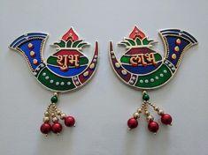 Diwali Sale, Diwali Craft, Diwali Rangoli, Diwali Decoration Items, Thali Decoration Ideas, Diy Crafts For Home Decor, New Crafts, Chudi Neck Designs, Janmashtami Decoration