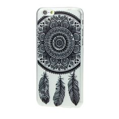 Hot-Black-Dream-Catcher-Transparent-Hard-Case-Cover-for-iPhone-6-4-7inch