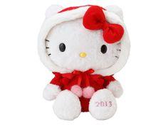 Hello Kitty Christmas Plush Doll 2013 SANRIO