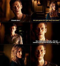 Klaus and Caroline - perfect for eachother <3
