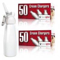 The whipped cream makers are available in both online and offline stores and people can buy those things easily  Click here: http://www.quickwhip.com.au/whipped-cream-chargers-24-x-8g.html