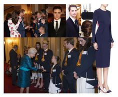"""""""Attending a Buckingham Palace reception for Team GB's 2016 Olympic and Paralympic teams"""" by lady-maud ❤ liked on Polyvore featuring Elsa Peretti, Alexander McQueen, Roksanda, Gianvito Rossi and Harry Winston"""