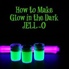 Glow in the Dark JELL-O Recipe - ZipList