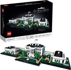 Amazon.com : lego the white house Building Toys For Kids, Lego Building Sets, Model Building Kits, Lego Hogwarts, Shop Lego, Buy Lego, Burj Al Arab, Taj Mahal Lego, Building The White House