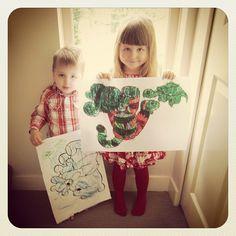 Little artists | Photo by http://beanbenson.com