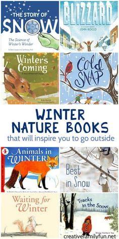 Winter Nature Books for Kids - Creative Family Fun