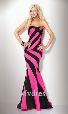 Prom Dress#Sleeveless #Dress #Strapless Dress