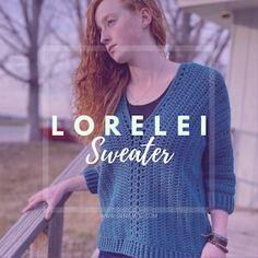 Lorelei Cardigan Crochet Pattern Easy/Intermediate | Etsy Basic Crochet Stitches, Crochet Basics, Easy Crochet Patterns, Crochet Jacket Pattern, Digital Pattern, Mommy And Me, One Piece, Sweaters, Cold Weather