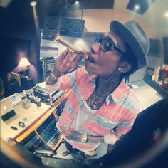 High times with Wiz Khalifa and his hip-hop friends