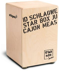 Schlagwerk CP400SB Star Box Kids Cajon