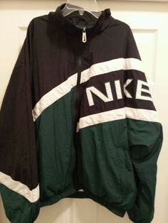 Mens XL Nike Hip Hop Color Block Windbreaker Full-Zip NIKE LOGO & Swoosh Logo in Clothing, Shoes & Accessories | eBay