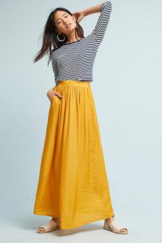 Slide View: 1: Magaly Maxi Skirt