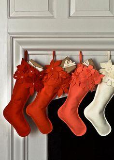 Winter Flower Christmas Stockings   Purl Soho Purl Soho, December 22, Christmas Stockings, Delivery, Christmas Leggings