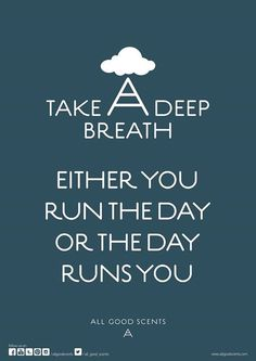 #TakeADeepBreath Be proactive and schedule your day well !! #PlanAhead #BeStressFree #GoodDay
