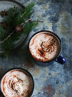 Hot chocolate.