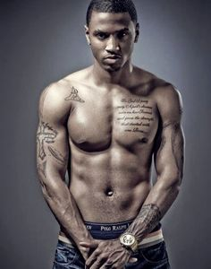 Trey Songz, the sexiest man alive.. After Chris Brown of course. (;