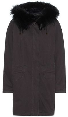 Army By Yves Salomon Fur-lined Cotton Parka