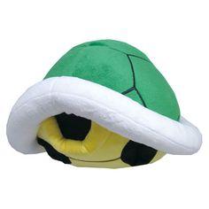 Super Mario Bros. Green Koopa Shell Pillow - Sanei - Super Mario Bros. - Pillows at Entertainment Earth