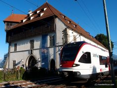 Seehas Railway in Constance, Germany