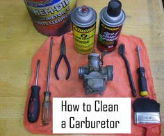 The carburetor is the most common problem area in all small engines. The carburetor is where the fuel mixes with the air to be burnt. Carburetors are on almost all types of combustion engines. When an engine sits for a long period of time without being ran, the fuel will start to break down. Make sure you replace the fuel in your tank before you start your engine after cleaning the carburetor otherwise you will just recreate your troubles. The carburetor being cleaned in this is off an old…