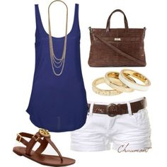 Cute beachy outfit