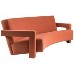 """""""Utrecht"""" Curved Sofa by Gerrit Thomas Rietveld for…"""