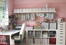 Home Craft Rooms | Home-Dzine - How to organise a craft room or space Z