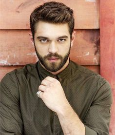 Turkish Men, Turkish Beauty, Turkish Actors, Beautiful Men Faces, Beautiful Boys, Moustache, Handsome Celebrities, Black And White Photo Wall, Bad Boy Aesthetic