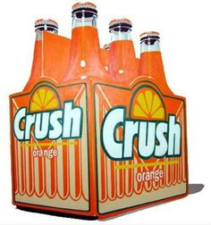 Orange Crush soda pop - perfect for an orange shower drink Orange Crush, Coca Cola, Wine And Liquor Store, Orange Drinks, Jaune Orange, Orange Soda, Sr1, Orange You Glad, Orange Recipes