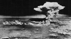 O momento da explosão da bomba em Hiroshima (Foto: Exército dos EUA/Memorial da Paz de Hiroshima/AP)