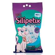Sílica Silipetix Micro Cristais Petix - Meuamigopet.com.br #cat #cats #gato #gatinho #bigode #muamigopet