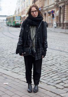 Paulina - Hel Looks - Street Style from Helsinki    LAYERS!!!