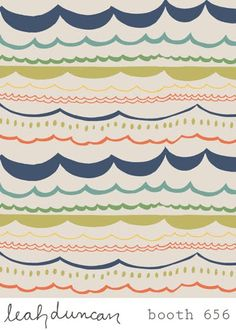 print  pattern: SURTEX 2011 - leah duncan