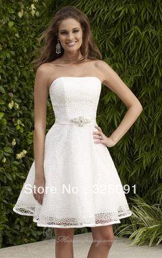 short vintage wedding dresses - Google Search