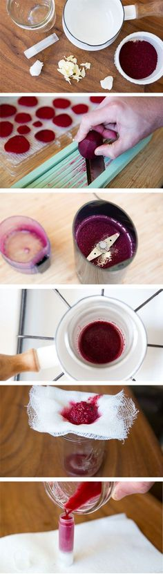Make Your Own Natural Lipstick At Home - Best DIY Makeup Recipes images Homemade Lipstick, Diy Lipstick, Natural Lipstick, Homemade Cosmetics, All Natural Makeup, Belleza Diy, Tips Belleza, Colby, Make Your Own Makeup
