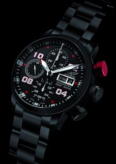 The brand AVIATOR will reveal its new model during the Baselworld a professional pilote watch inspired by the pilots of the Russian aerobatic. on Presentwatch Cool Watches, Rolex Watches, Watches For Men, Walpaper Iphone, Mechanical Watch, Automatic Watch, Queen, Fashion Watches, Bracelet Watch