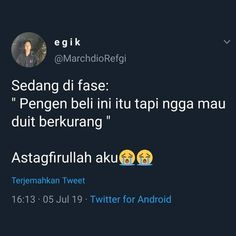 Quotes Lucu, Quotes Galau, Best Quotes, Funny Quotes, Qoutes, About Twitter, Rare Words, Perfection Quotes, Quotes Indonesia