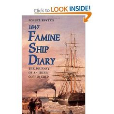 Famine Ship Diary The Journey of an Irish Coffin ship I Love Books, Books To Read, Irish Famine, Irish Blessing, Family History, Genealogy, Potato Famine, Literature, Waiting List