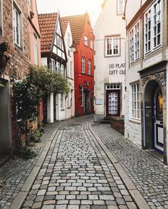 Small towns in Germany. This is Bremen