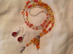 FREE EAR RINGS Lanyard Necklace Handmade Hand by BOONEDOCK27, $14.00