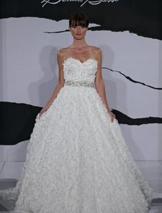 Sweetheart Princess Ball Gown in Taffeta from Dennis Basso