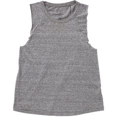Billabong Women's Essential Muscle Tank Top (68 BRL) ❤ liked on Polyvore featuring tops, shirts, tank tops, tanks, dark athletic grey, t-shirt/prints, dark grey shirt, print shirts, muscle tank and billabong shirts