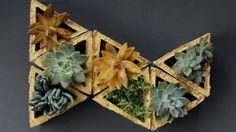 DIY: betonnen plantenbakjes om mee te puzzelen