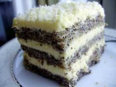 Tort  \ Polish Desserts, Polish Recipes, Food Cakes, Cupcake Cakes, Sweet Recipes, Cake Recipes, Delicious Desserts, Yummy Food, Kolaci I Torte