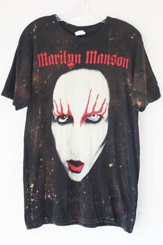 Rock out with handmade shirts and more starring Marilyn Manson