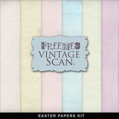 Far Far Hill: Freebies Easter Colors Papers