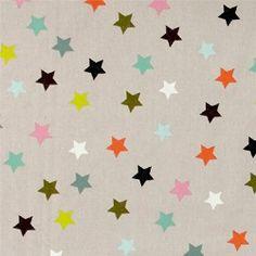 Bomull sand m multifarget stjerner