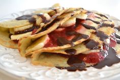Grain-Free Crepes Recipe - Paleo, Southbeach, gaps, gluten-free, sugar-free, dairy-free, soy-free, and guilt free!